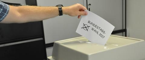 Wahlhelferinnen und -helfer gesucht