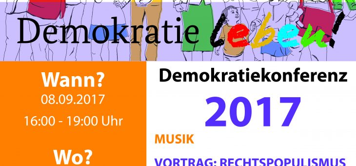 1. Demokratiekonferenz in Hattingen (08.09.17)