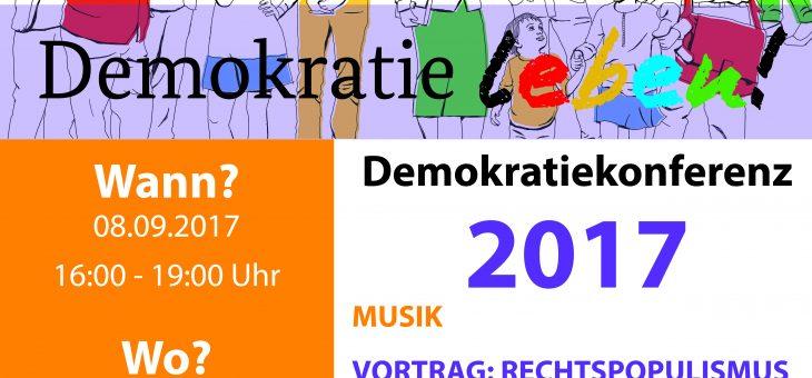 1. Demokratiekonferenz in Hattingen (08.09.17)