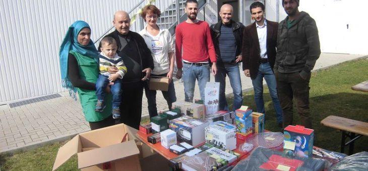 Fest zur Würdigung ehrenamtlichen Engagements; Hattinger Flüchtlingshilfe/ HAZ