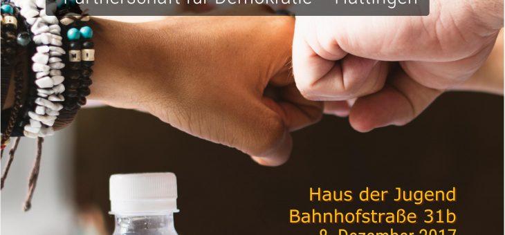 "08.12.17: Erste Jugendkonferenz des Jugendforums der ""Partnerschaft für Demokratie"""