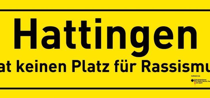 """Auftakt der Kampagne """"Hattingen hat keinen Platz für Rassismus"""""""