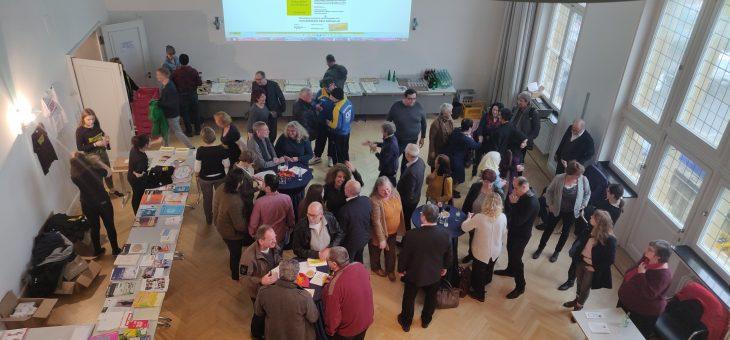 Demokratiekonferenz/Ausstellungseröffnung, letzten Freitag