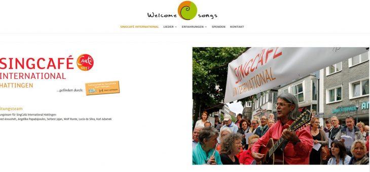SingCafé international – Übersetzungen Lieder u. Website; Il canto del mondo e.V.