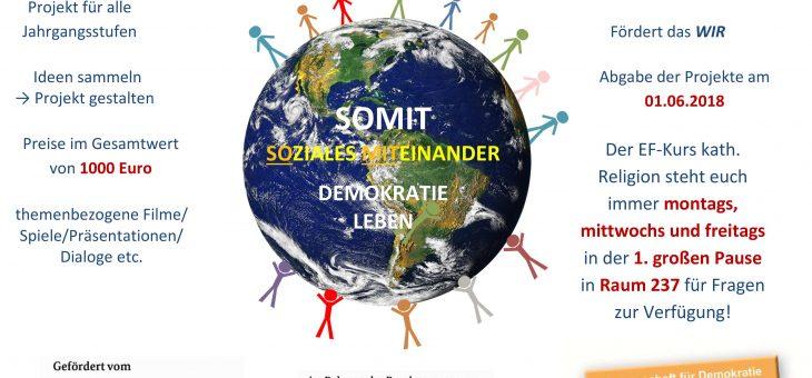 Soziales Miteinander – Demokratie leben!; Förderverein des städt. Gymnasiums Holthausen