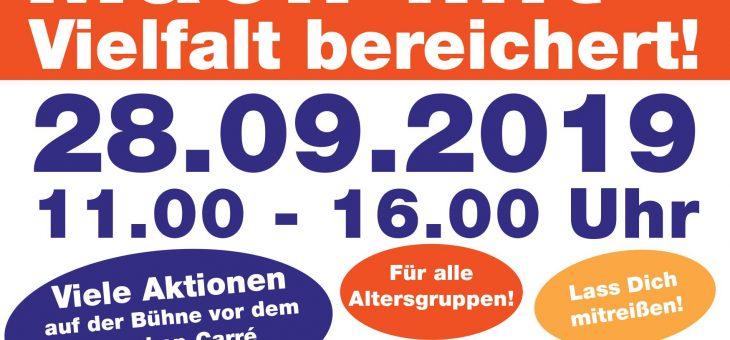 Aktionstag der Bewegungs- und Sportkulturen  28.09.19,  11h-16h  Reschop-Carré