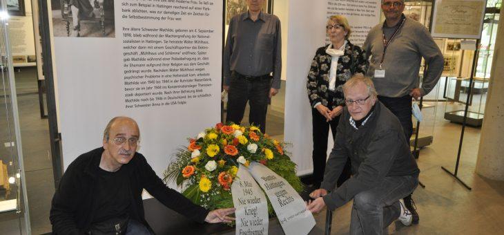 8. Mai: Bilder vom Gedenken an das Ende des Zweiten Weltkrieges vor 75 Jahren