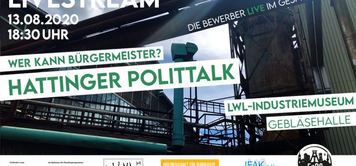 Video vom Hattinger Polittalk ist online