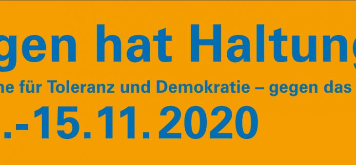 """Gedenk- und Aktionswoche """"Hattingen hat Haltung"""" findet nicht statt"""