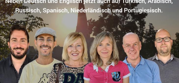 Stadt- und Museumsführungen in verschiedenen Sprachen